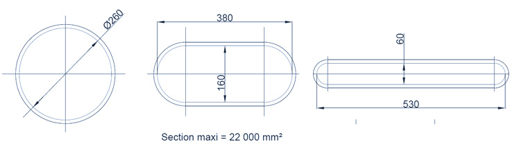 extrusion dimensions